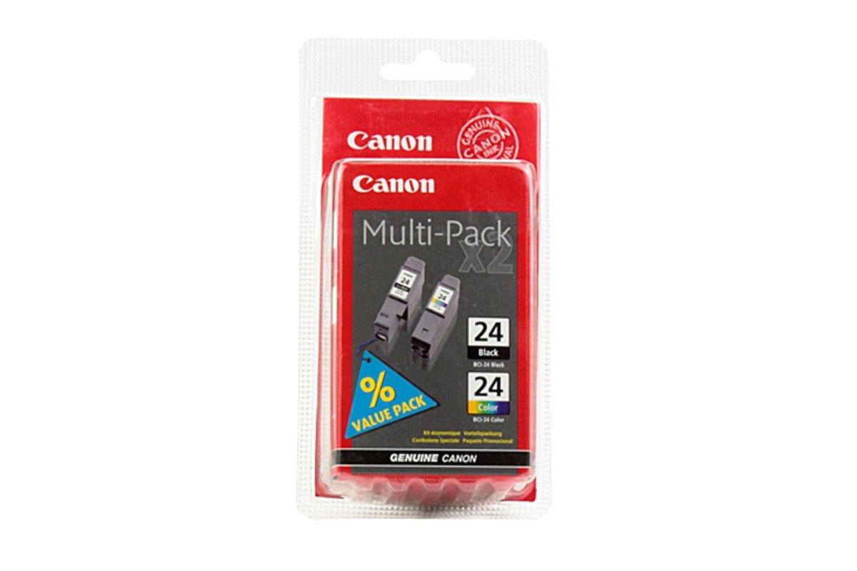 Genuine Ink Cartridge Canon BCI-24BK/BCI-24C Black/Color