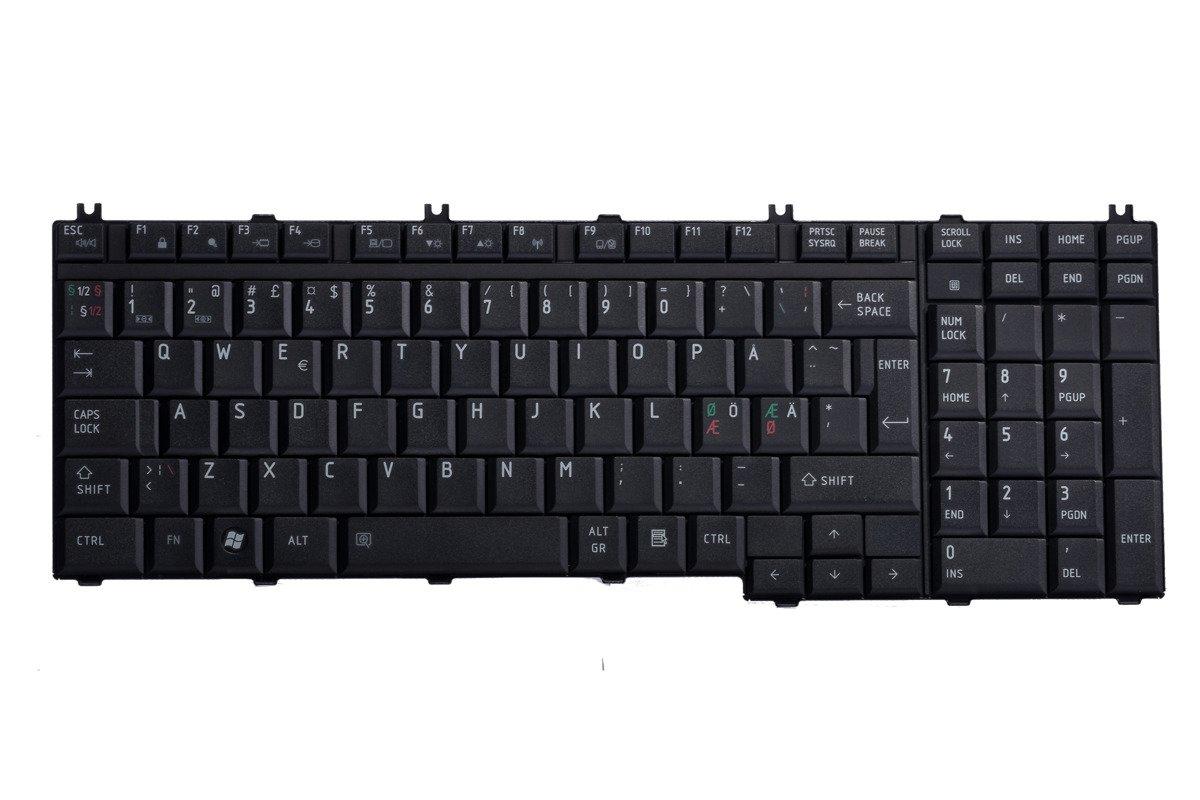 Keyboard Toshiba MP-06876DN-920 (Norwegian)