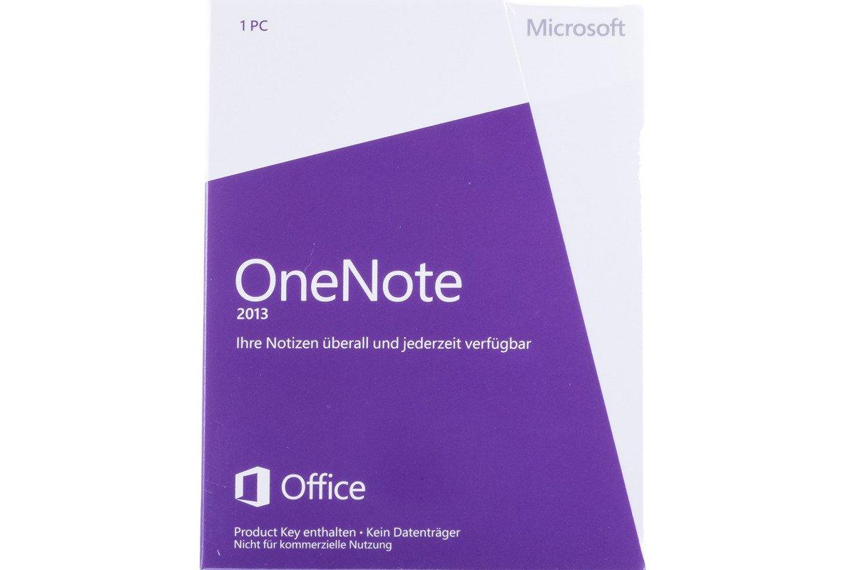 Neu OVP Microsoft OneNote 2013 S26-05131 Medialess Non-commercial Eurozone
