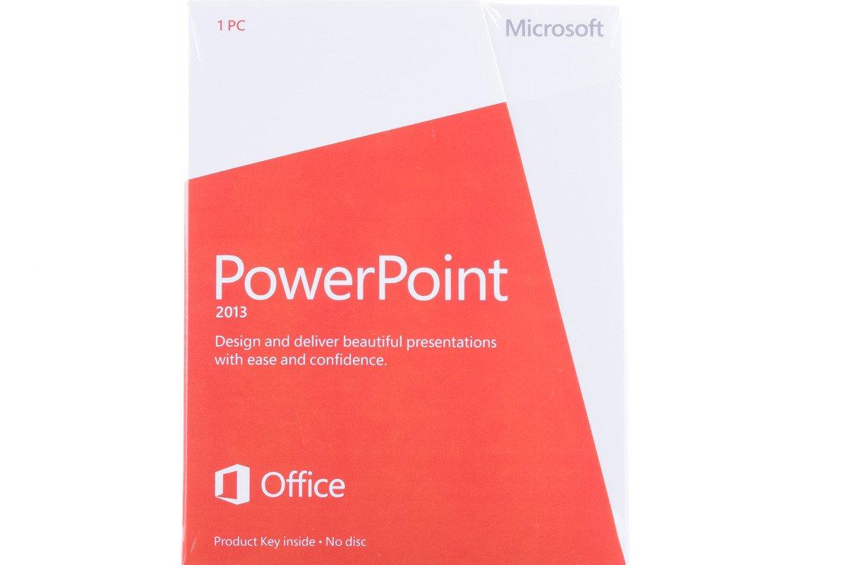 Neu OVP Microsoft Powerpoint 2013 079-05835 Englisch Medialess Eurozone