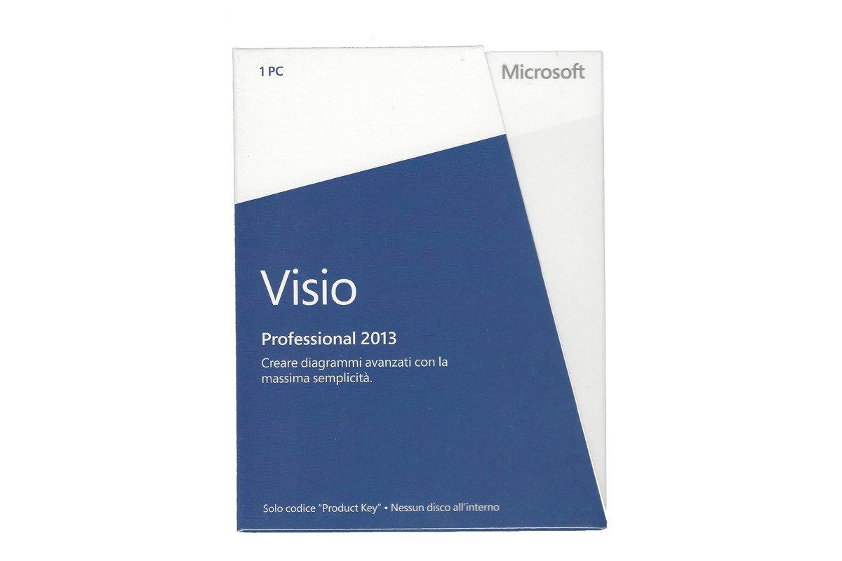 Neu OVP Microsoft Visio Professional 2013 D87-05366 Medialess Eurozone BOX