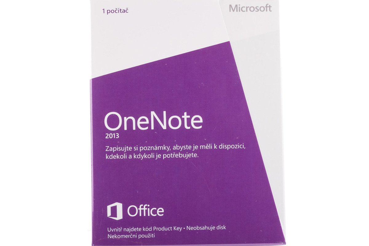 New verschlossenen Original OneNote 2013 S26-05126 Czech Medialess Eurozone