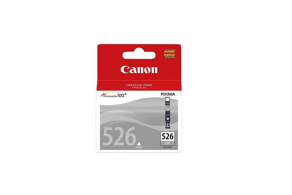 Original Tintenpatronen Canon 526 CLI-526GY 4544B001 Grau