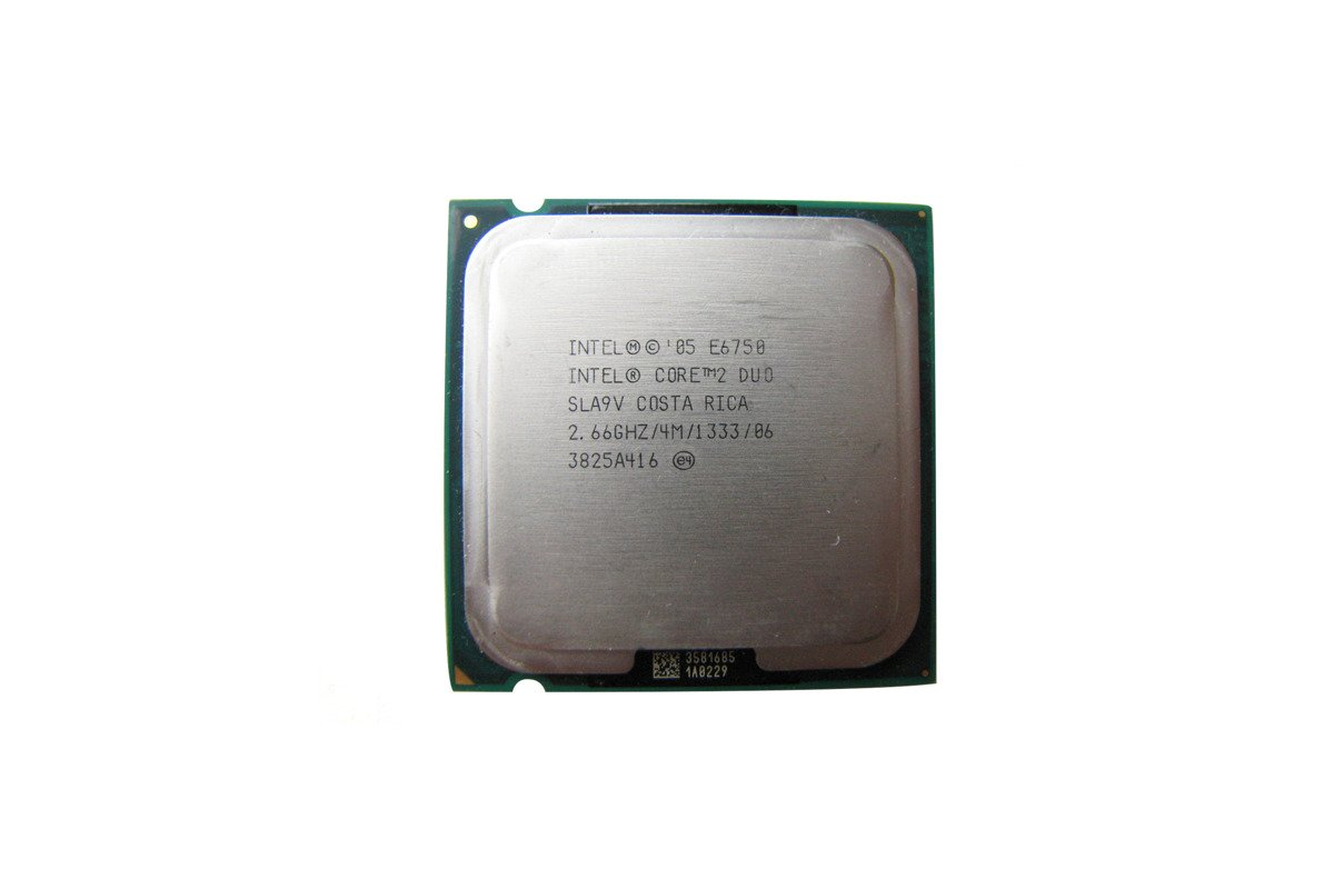Prozessor Intel Core 2 Duo E6750 2.66GHz 4MB PLGA775