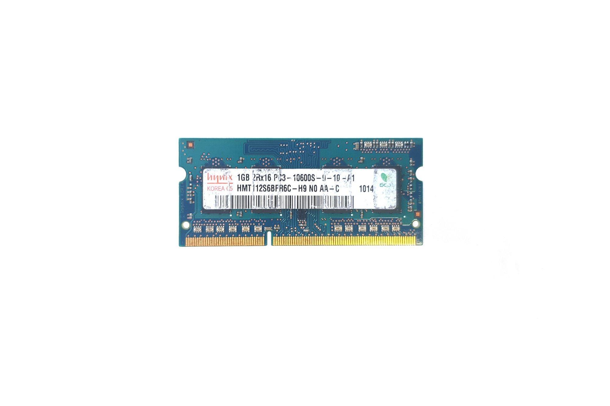 SODIMM RAM-Speicher Hynix 1GB DDR3 HMT112S6BFR6C-H9
