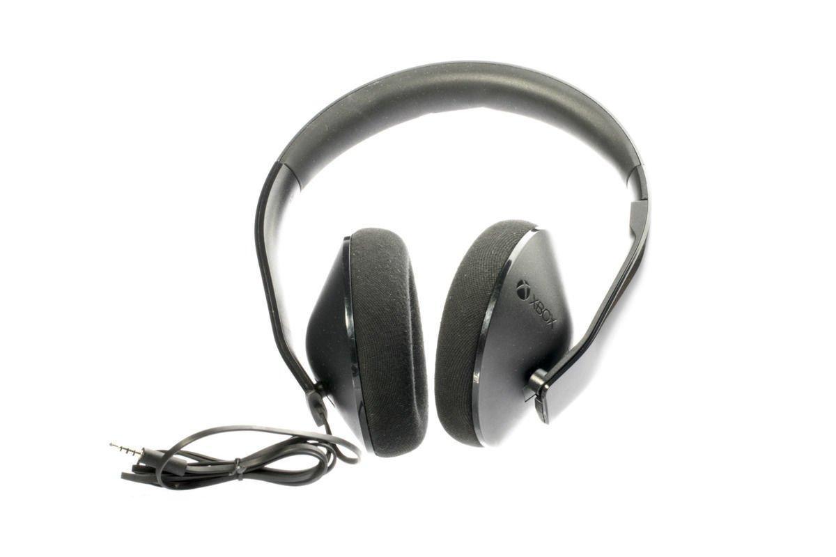 Xbox One Stereo Headset Schwarz Kein Mikrofon