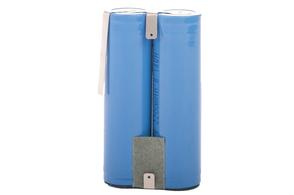 Lithium-Ionen Akku 4400mAh 2x 2200mAh 3,7V