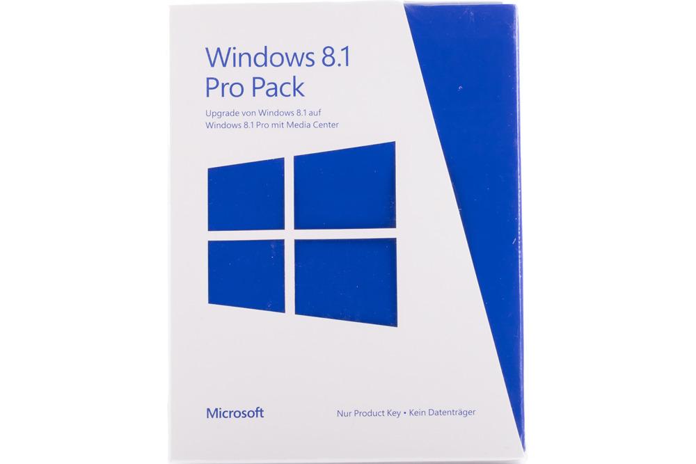 Neu OVP Microsoft Windows 8.1 Pro Pack 5VR-00155 German PUP Upgrade