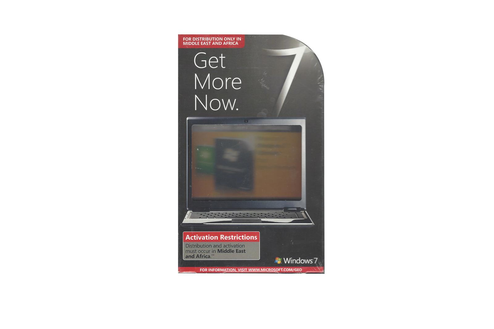 Neues Windows 7 Home Basic auf Premium 3WC-00001-Upgrade 32/64 bit Mittlerer Osten / Afrika BOX