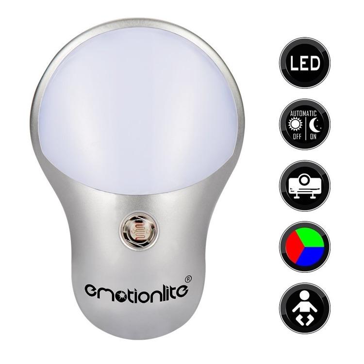 RGB LED-Projektor-Nachtlicht mit Dämmerungssensor