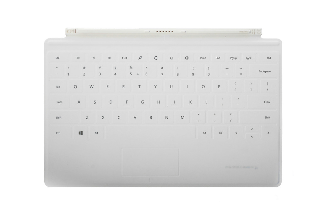 Tastatur Surface Touch Cover 1 Weiß Grade A (US/UK104)