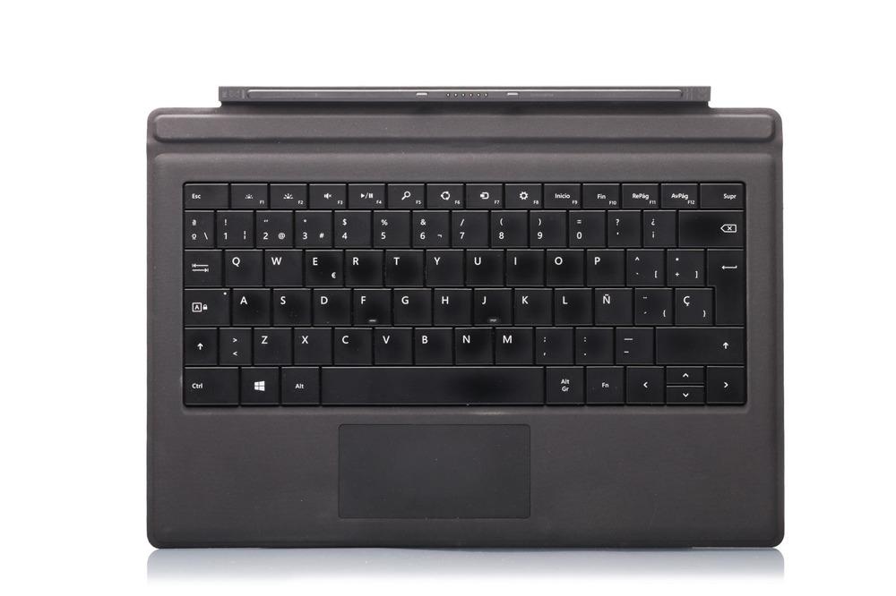 Tastatur Surface Type Cover Pro 3 Schwarz Grade A (spanisch)