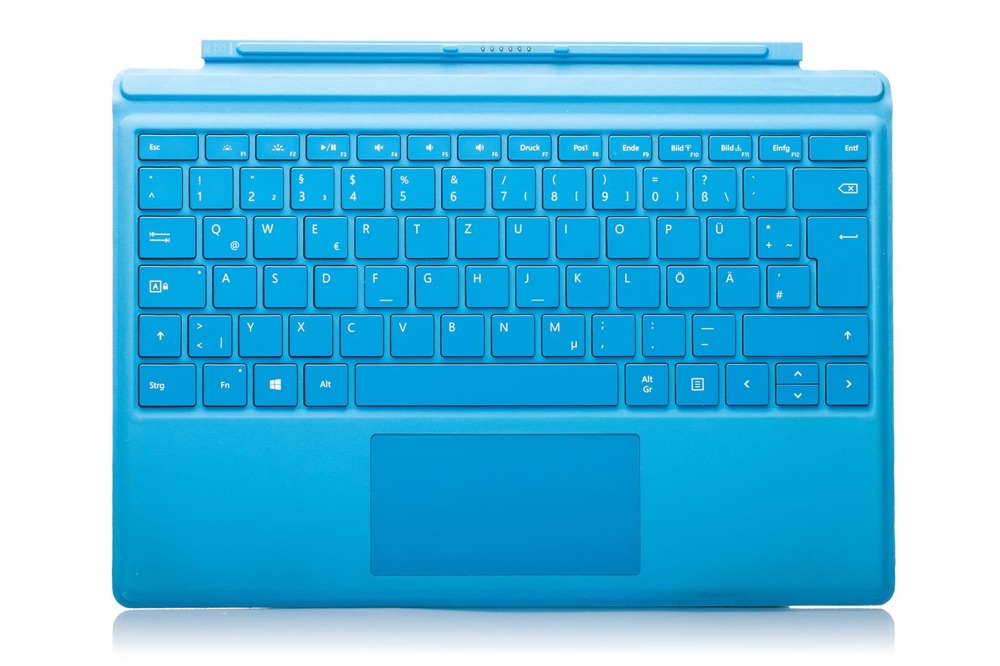 Tastatur Surface Type Cover Pro 4 Cyan Grade B (deutsche)
