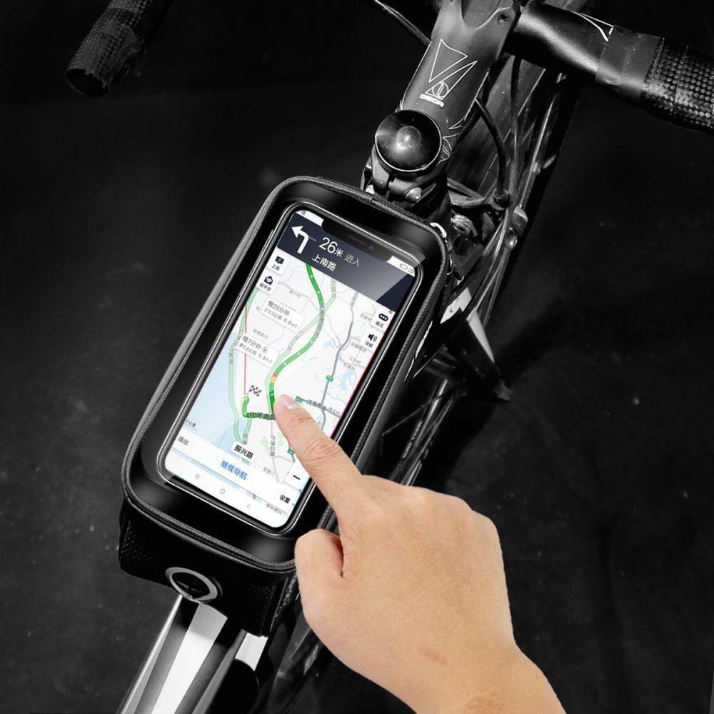 WildMan Hardpouch Bag Fahrradhalter L Bike Phone wasserdichte Kopfhörertasche